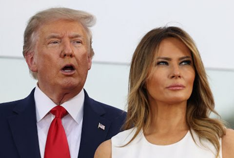 Donald-Trump-and-his-wife